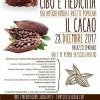 """Cacao che meraviglia: a Palazzo Spadaro un appuntamento """"Cibo e medicina""""."""
