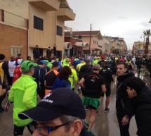 Luigi Spinali e Tatiana Betta vincono la Maratonina di Ponente a Donnalucata.