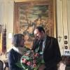 La Console americana a Napoli, Mary Countryman,  in visita a Scicli. Innamorata dei luoghi di Montalbano.