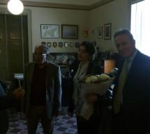 Il Presidente della Corte dei Conti Angelo Buscema a Scicli incontra Sindaco e Giunta per un saluto alla città.