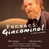 """""""Pensaci Giacomino"""" al Teatro Italia giorno 22 marzo."""