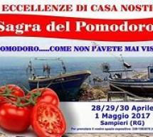 Sagra del Pomodoro di Sampieri: si comincia domani 28 aprile.