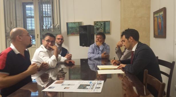 Simone Capecchi, direttore finance market della Crif, a Scicli ospite della Confeserfidi.