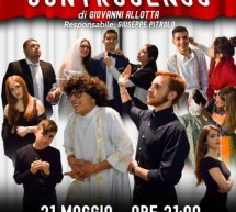 """""""A parrocchia controsenso"""" al Teatro Italia"""": Attori sono gli studenti del """"Cataudella""""."""