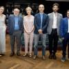 Carmelo Riccotti La Rocca ritira il Premio di giornalismo Luchetta 2018.