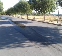 Sversamento d'acqua in via Brancati