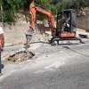 Si ripristina il canale delle acque bianche in via Ospedale
