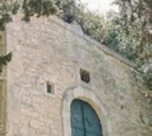 """Atti vandalici alla chiesetta del Calvario: """"F.I. Giovani"""" condanna."""