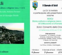La Storia di Scicli al Convento della Croce. Teatro a Villa Penna. Domani 22 Settembre.
