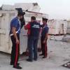 Sequestro Noe di rifiuti in un'area senza autorizzazioni. In Contrada Dammusi.