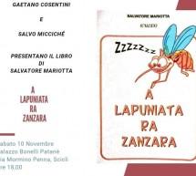 """""""A lapuniata ra zanzara"""" di Culex (alias Prof. Mariotta) il 10 novembre il libro."""