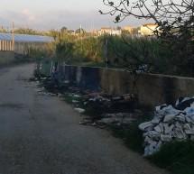 Multa di 600 euro a un ambulante che abbandonava rifiuti in contrada Spinello.