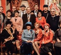 """Bella serata di teatro: I Caturru con successo per """"Don Gesualdo e la ballerina""""."""