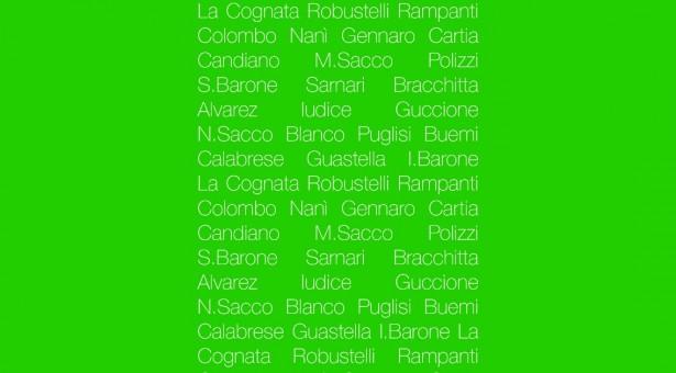 """I """"Disegni"""" di 25 artisti siciliani al Brancati. Domenica 9 dicembre l'inaugurazione."""