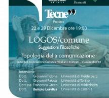 """Suggestioni filosofiche al """"Brancati"""". Organizza """"Tecne99″."""