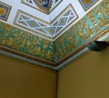 Piove dentro Palazzo Spadaro.