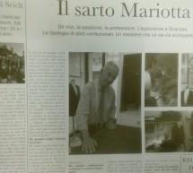 Il sarto Bartolomeo Mariotta in un'intervista sul Giornale di Scicli