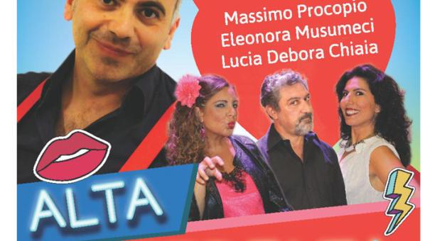 """Il 4 aprile al Teatro Italia la commedia """"Alta infedeltà"""" con Eduardo Saitta."""