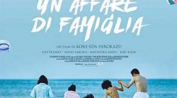 """Ritorna il Cineforum a Scicli, e c'è subito un capolavoro. """"Un affare di famiglia"""" di Koreeda."""