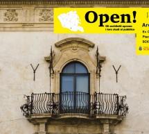 """""""Open! Studi Aperti"""": il 24 e il 25 maggio all'ex Convento del Carmine a Scicli la manifestazione dell'Ordine degli Architetti di Ragusa"""