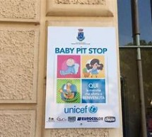 """Il primo """"Baby Pit Stop"""" in provincia grazie all'Unicef."""
