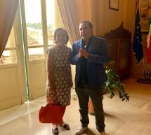 Elsa Fornero in visita a Scicli