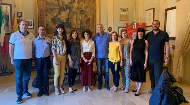 Gal, delegazione bulgara a Scicli