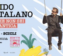 """Il poeta Guido Catalano a Scicli il 2 agosto. Presenta """"Tu che non sei romantica""""."""