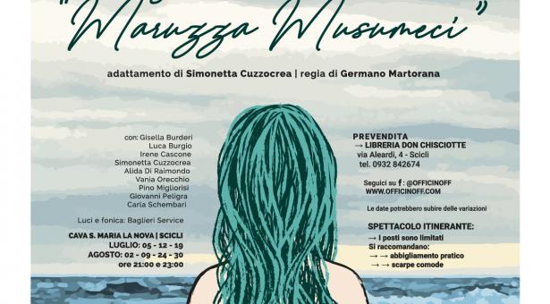 """""""Scicli racconta… Maruzza Musumeci"""": al via la rassegna teatrale """"Villeggianti"""""""