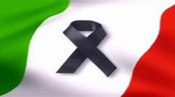 Proclamato il lutto cittadino per oggi 17 luglio