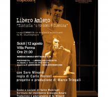 """Shakespeare in siciliano, il 12 agosto a Villa Penna a Scicli """"Libero Amleto – Tinturia 'u to nomu è fimmina"""" con Saro Minardi"""