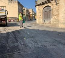 Si asfaltano alcune strade di Scicli città.