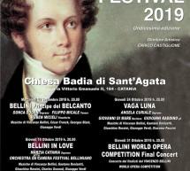 Il M.° Marcello Pellegrino al Bellini Festival di Catania.