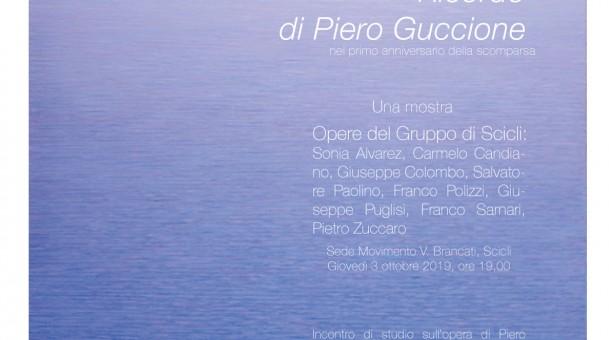 Ricordo di Piero Guccione: gli eventi a Scicli nel primo anniversario della scomparsa