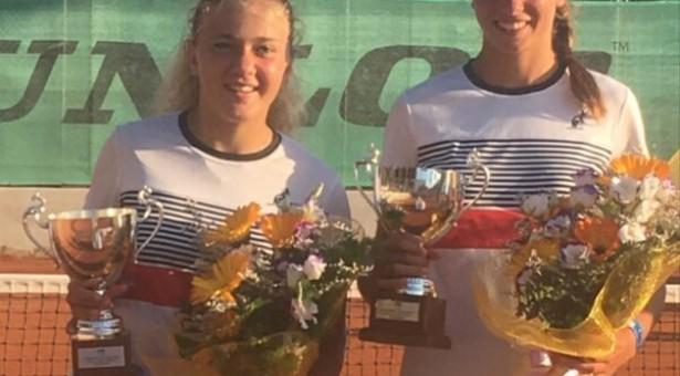 Tennis: Noemi La Cagnina sfiora il titolo italiano di doppio U14