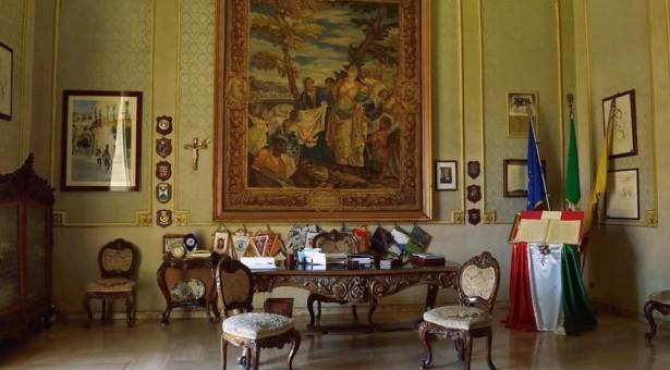 Il colonnello Gainelli in visita istituzionale a Scicli.
