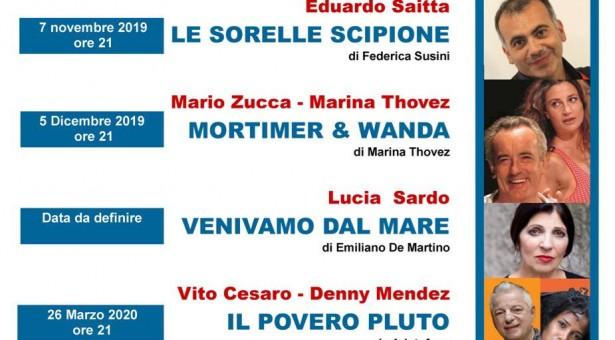 La nuova Stagione Teatrale all'Italia di Scicli. Si comincia il 7 novembre con Eduardo Saitta.