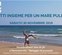 Legambiente Scicli – Il 30 novembre una grande pulizia della spiaggia a Donnalucata con il progetto Clea Sea Life.