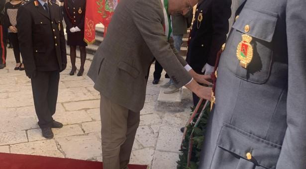 Celebrato il Giorno delle Forze Armate anche a Scicli.