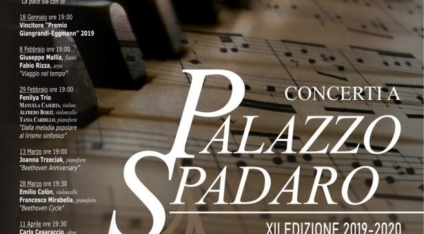 Stagione musicale: sabato 30 l'Ensemble Sicily Denner Clarinet a Palazzo Spadaro.
