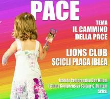 ANCHE A SCICLI RIPRENDE IL CAMMINO DELLA PACE:  CONCORSO DEL LIONS CLUB.