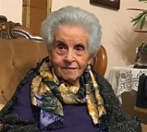 Muore a 106 anni la Signora Melina Drago.