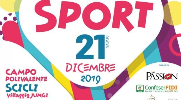 Festa dello Sport sabato 21 dicembre