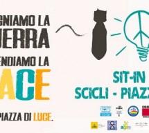 """Domenica 25 gennaio """"Accendiamo la pace"""". A Scicli in piazza Municipio dalle ore 18."""