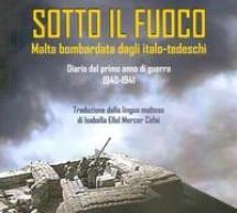 """Al """"Brancati"""" presentazione del libro """"Sotto il fuoco. Malta bombardata dagli italo-tedeschi"""". Sabato 29 febbraio."""