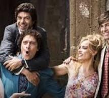 """Al Cinema Italia, da giovedì 13 febbraio, il film """"Gli anni più belli"""", con Savino, Rossi Stuart. Santamaria, Ramazzotti."""