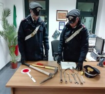 Tre vittoriesi arrestati per furto. Operavano in contrada Guadagna.