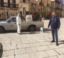 Avviata la sanificazione degli edifici e delle auto comunali