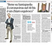 """Caso Borrometi-Commissione antimafia stamane su """"Il fatto quotidiano""""."""