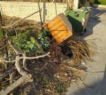 A Cava d'Aliga i rifiuti della bruttezza.